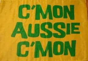 Come on Aussies, c'mon!