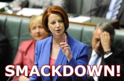 Gillard mysogynist