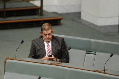 peter slipper resigned