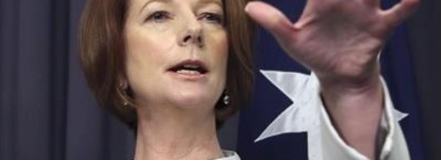 Gillard to reject secret ballot, flush out Rudd supporters
