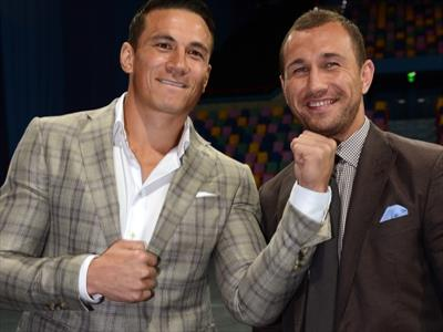 Sonny Bill Williams and Quade Cooper