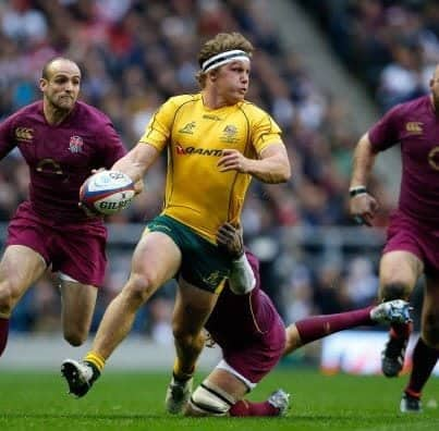 Wallabies vs England