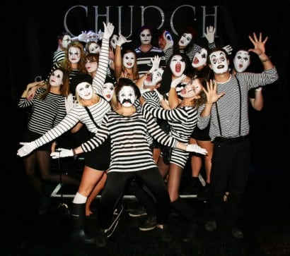 Mimes at the Church