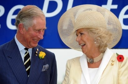 Charles and Camilla at Melbourne Cup