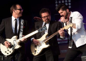 INXS Perform at Southern Sounds Festival, Clapham Common
