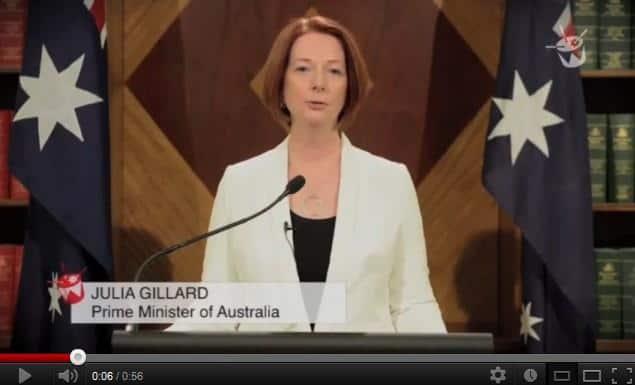 Gillard End of the World