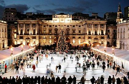 ice skating in London this Christmas