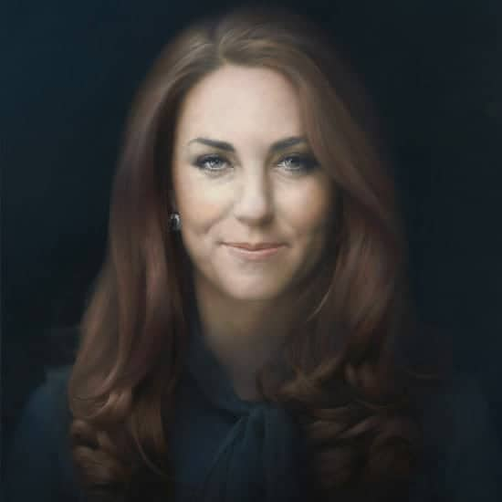 Portrait of Catherine, Duchess of Cambridge, by Paul Emsley