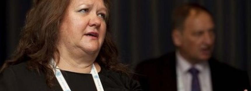 Rinehart reveals Hancock finances showing $1.2bn profit