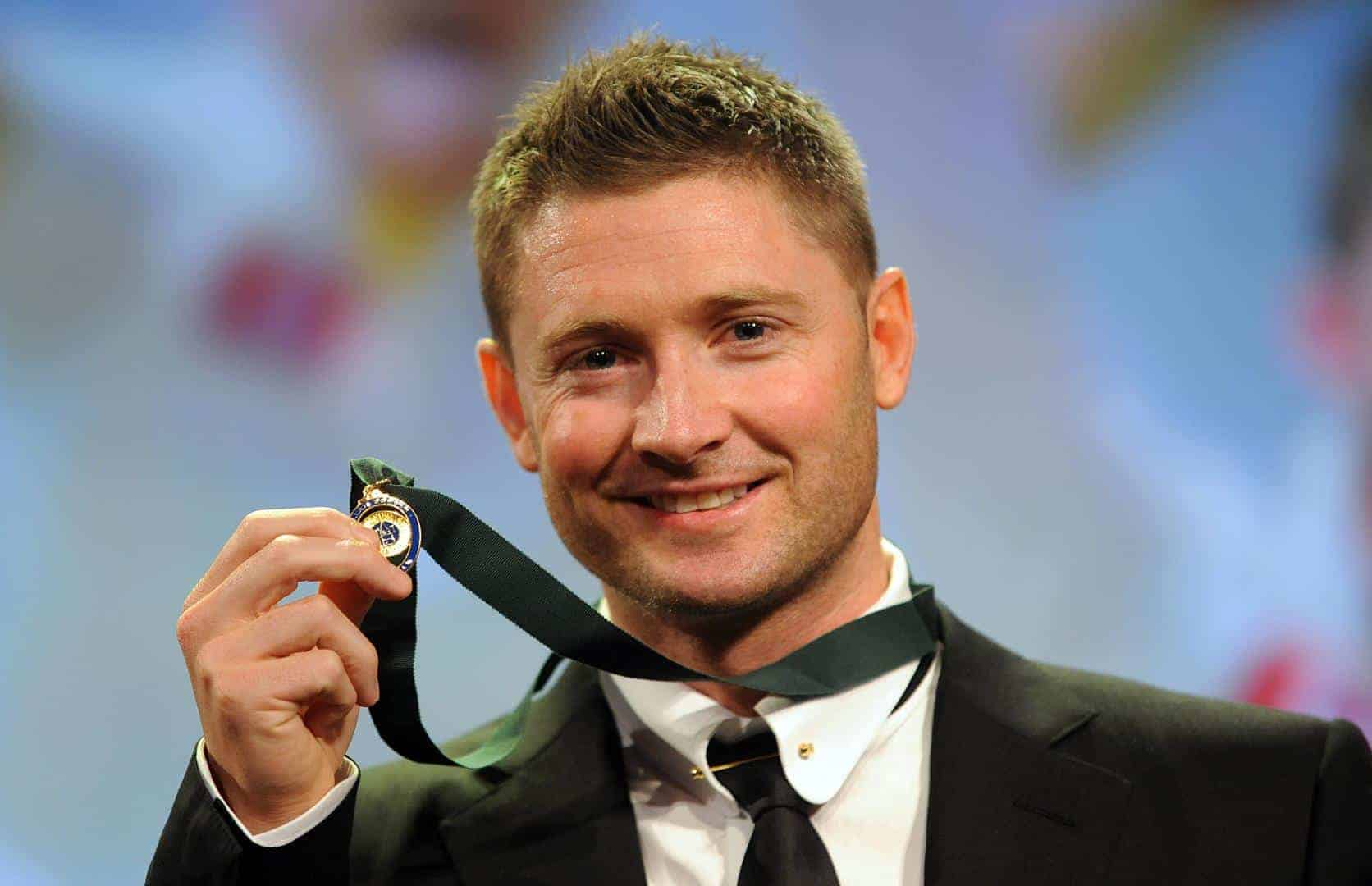 Allan Border Medal: Emotional Michael Clarke Wins Allan Border Medal