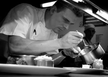 Chef Oliver Lesnik at The Cadogan Hotel