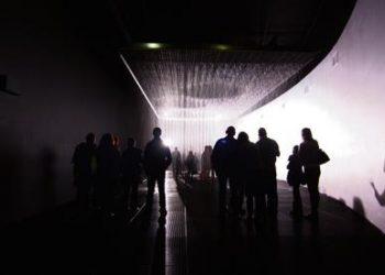Rain at the Barbican