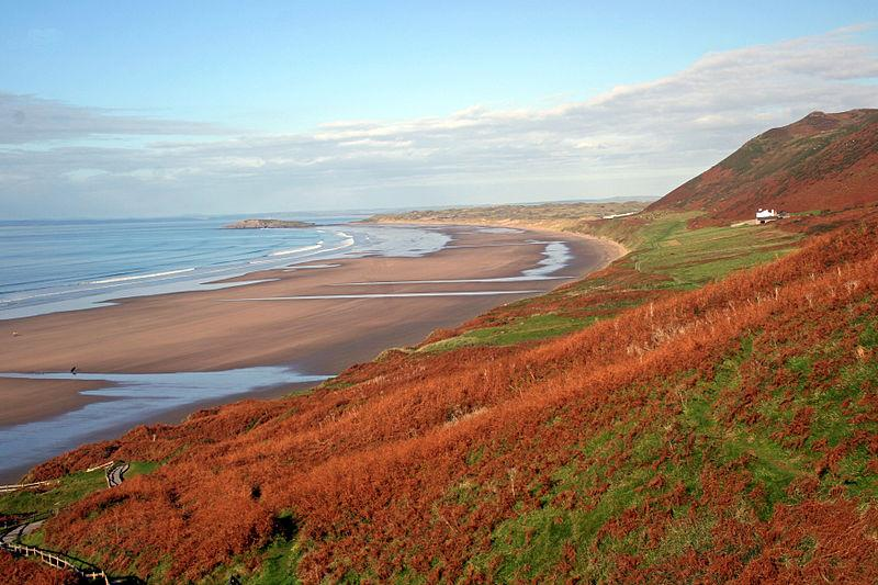 Rhossili Beach South Wales