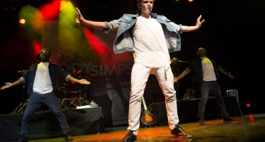 Cody Simpson performs at London's IndigO2