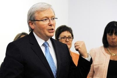 Kevin Rudd - Labor leadership challenge