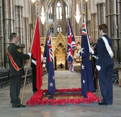 Service of Commemoration and Thanksgiving to mark Anzac Day on Sunday 25th April 2010.
