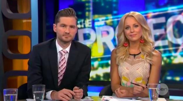 Carrie Bickmore The Project