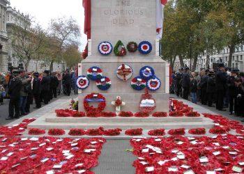 Cenotaph Whitehall Anzac Day London