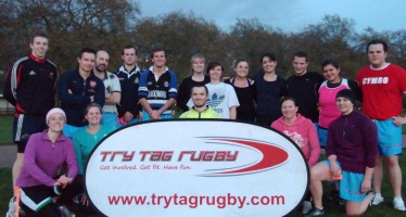 Try your hand at Try Tag Rugby with a free taster session