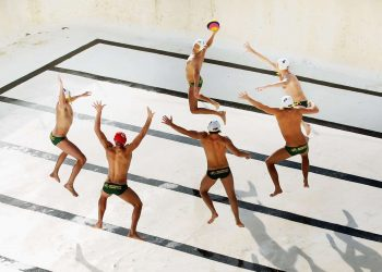 Australian Olympic Games Waterpolo Portrait Session