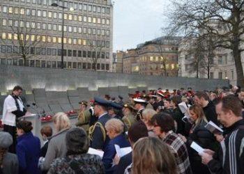 Anzac Day London 2013