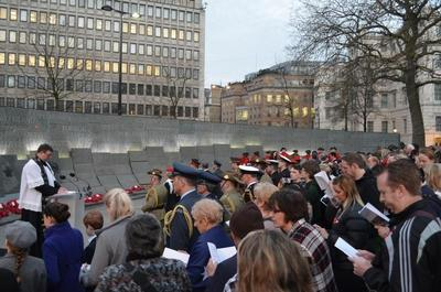 Anzac Day London 2013
