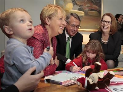 Thank you card for DisabilityCare moves Gillard to tears