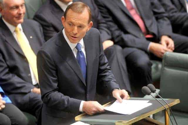 Abbott lays out $4bn a year spending cuts in budget reply