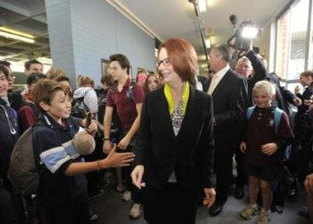 JULIA GILLARD HIGH SCHOOL VISIT