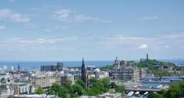 Seeking sunshine in Scotland