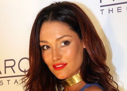 Former Miss Australia Erin McNaught weds UK rapper Example