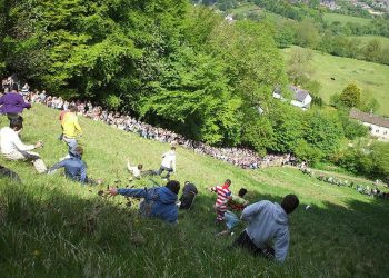 Cheese rolling 2013