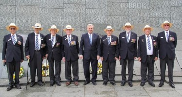 Aussie veterans honoured on Battle of the Atlantic 70th anniversary