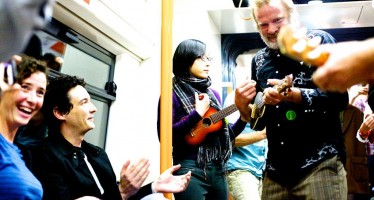 At an Overground near you: Sound Tracks Festival takes to public transport