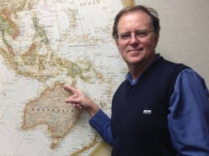 Scientist Ian McIntosh plans an expedition in July to revisit the location where five coins - proven to be 1000 years old - were found in the Northern Territory. (AAP)