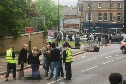 Woolwich street attack on British solider outside barracks
