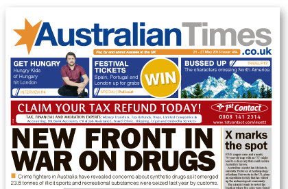 Australian Times weekly newspaper | 21 May 2013