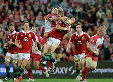 RUGBY REDS BRITISH IRISH LIONS