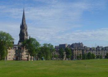 Edinburgh in the summer