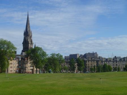 Edinburgh in the summer
