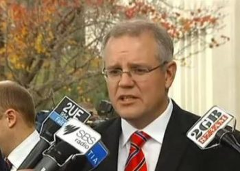 Shadow immigration minister Scott Morrison