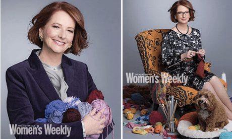 womens weekly gillard knitting