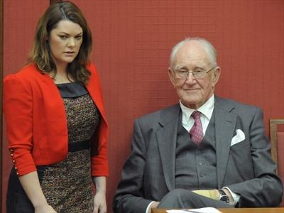Malcolm Fraser and Sarah Hanson-Young