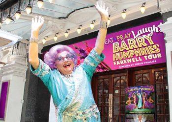 Dame Edna Farewell Tour