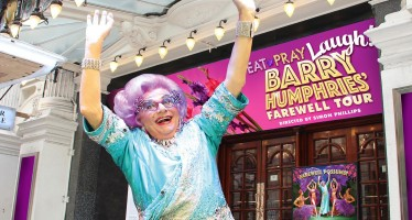 Goodbye Possums! Dame Edna farewells London fans in West End