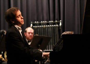 Australian pianist Philip Eames was a Rhapsody in Blue