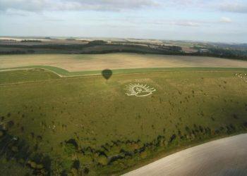 Rising sun cap memorial Wiltshire