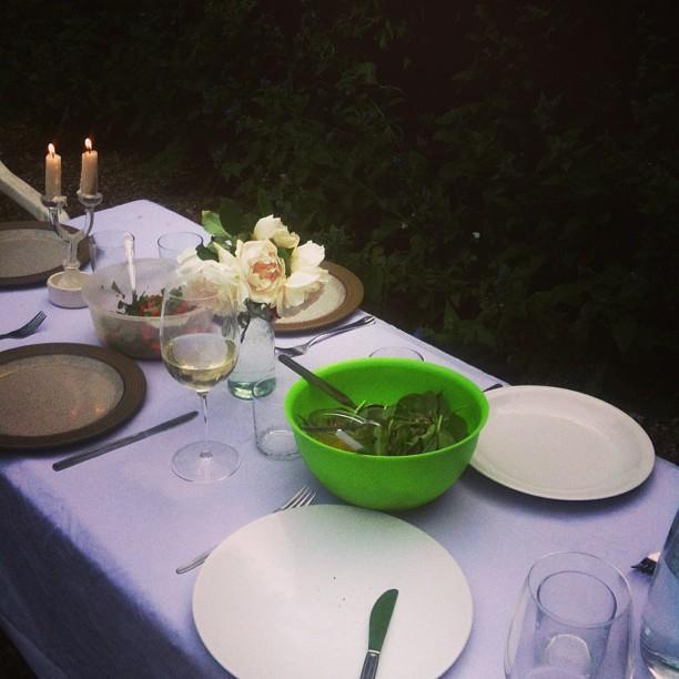 Photo of dinner