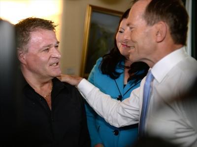 Tony Abbott terror victim compensation