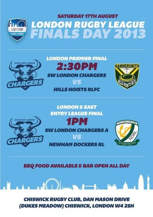 London Rugby League Finals Day 2013